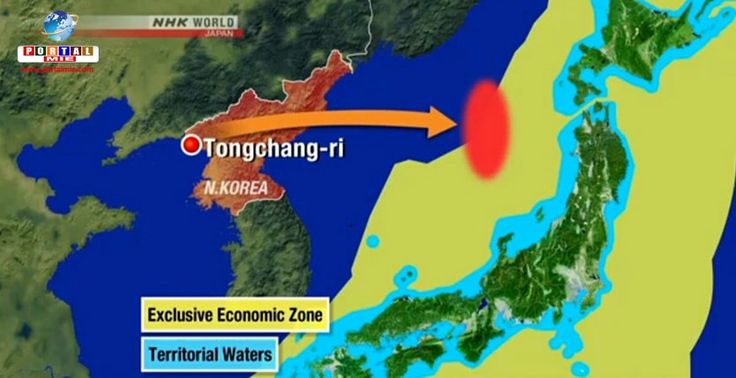A Coreia do Norte afirmou que fez testes de mísseis tendo como alvo as bases militares dos EUA no Japão.