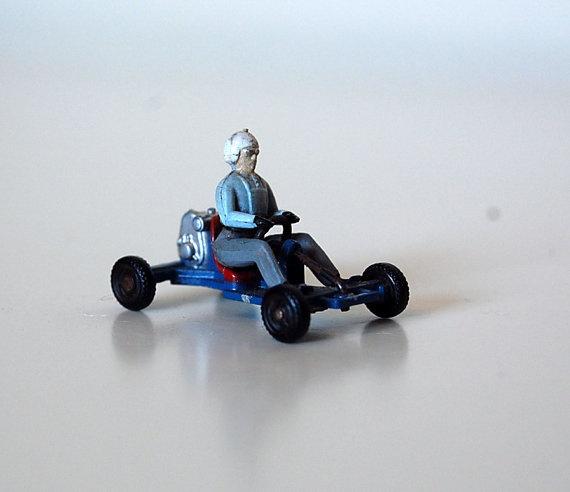 Vintage Dinky Toys Die Cast Leskokart 512 by SprinklesInTime, $12.50