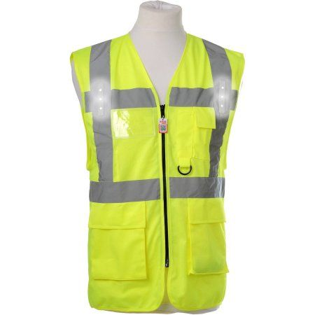 Visijax LED Workwear Hi-Vis Safety Vest