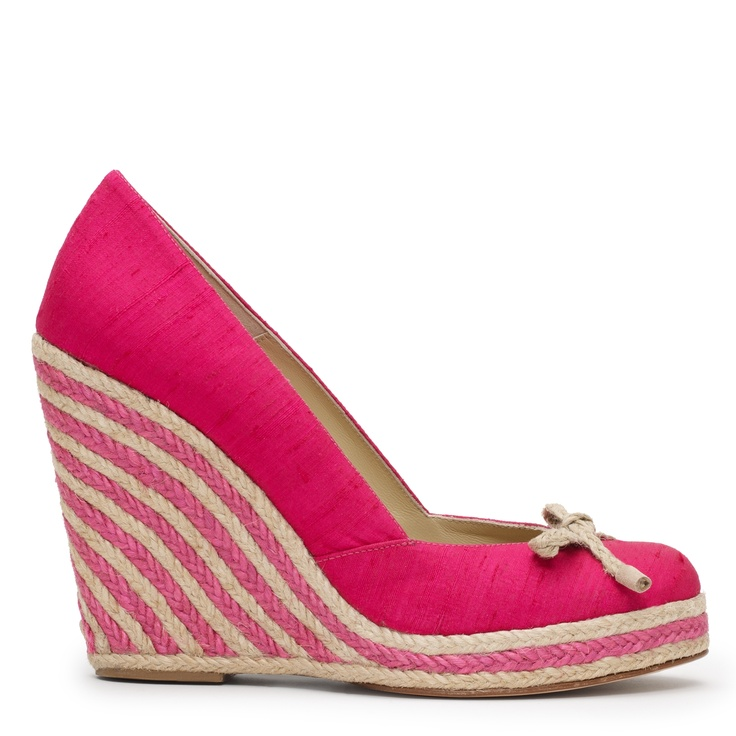 pink wedges for summer #shoes #wedges #heels #pink