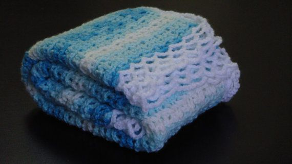 Check out this item in my Etsy shop https://www.etsy.com/listing/194697988/crochet-baby-blanket-afghan-crochet-blue
