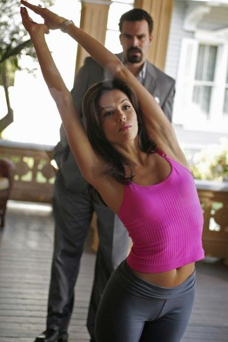 I wish I looked like Eva Longoria when I work out