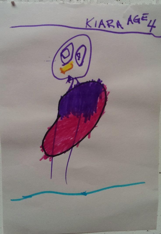 Bird? .......Artist: Kiara, Age 4