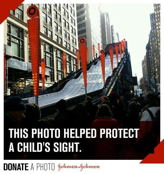 This photo helped protect a child's sight.