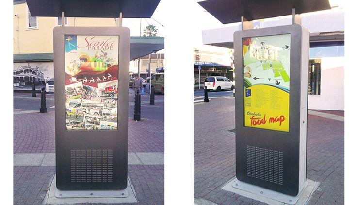 The Otahuhu Business Association required an interactive outdoor kiosk and there is Fingermark solution. Do you like it?