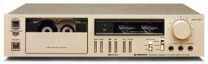 PIONEER CT-470 (1980)
