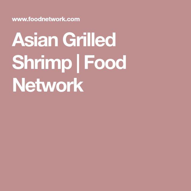 Asian Grilled Shrimp | Food Network