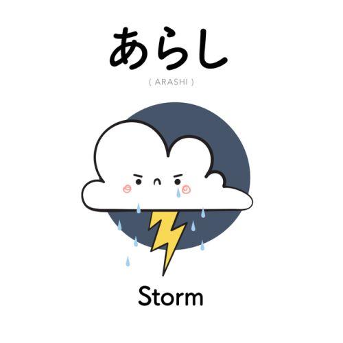 [340] あらし | arashi | storm