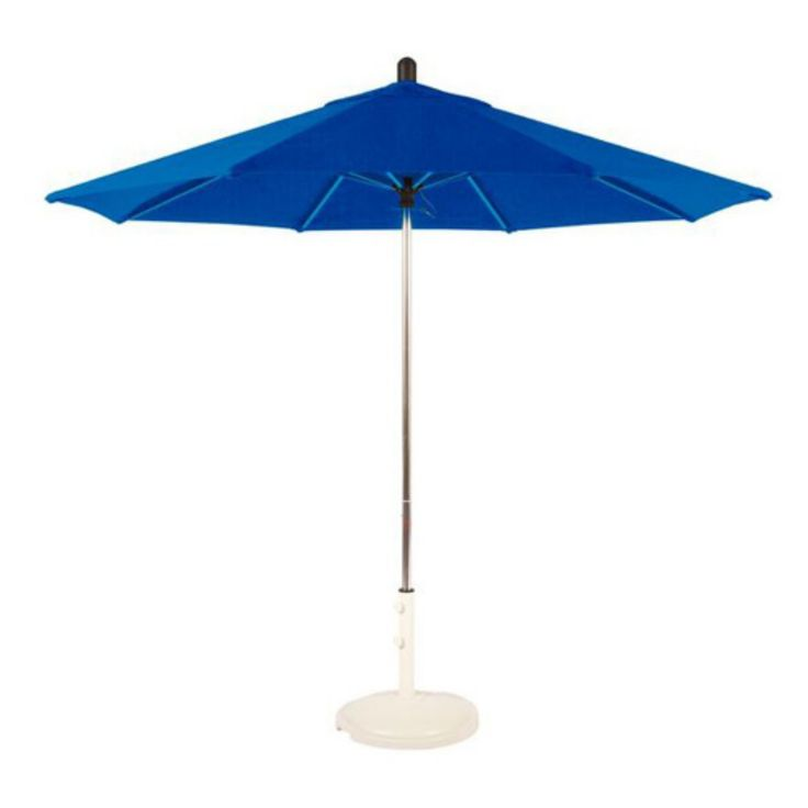 Amauri Santa Barbara 9 ft. Round Sunbrella Patio Umbrella - 68218-103-CS21801