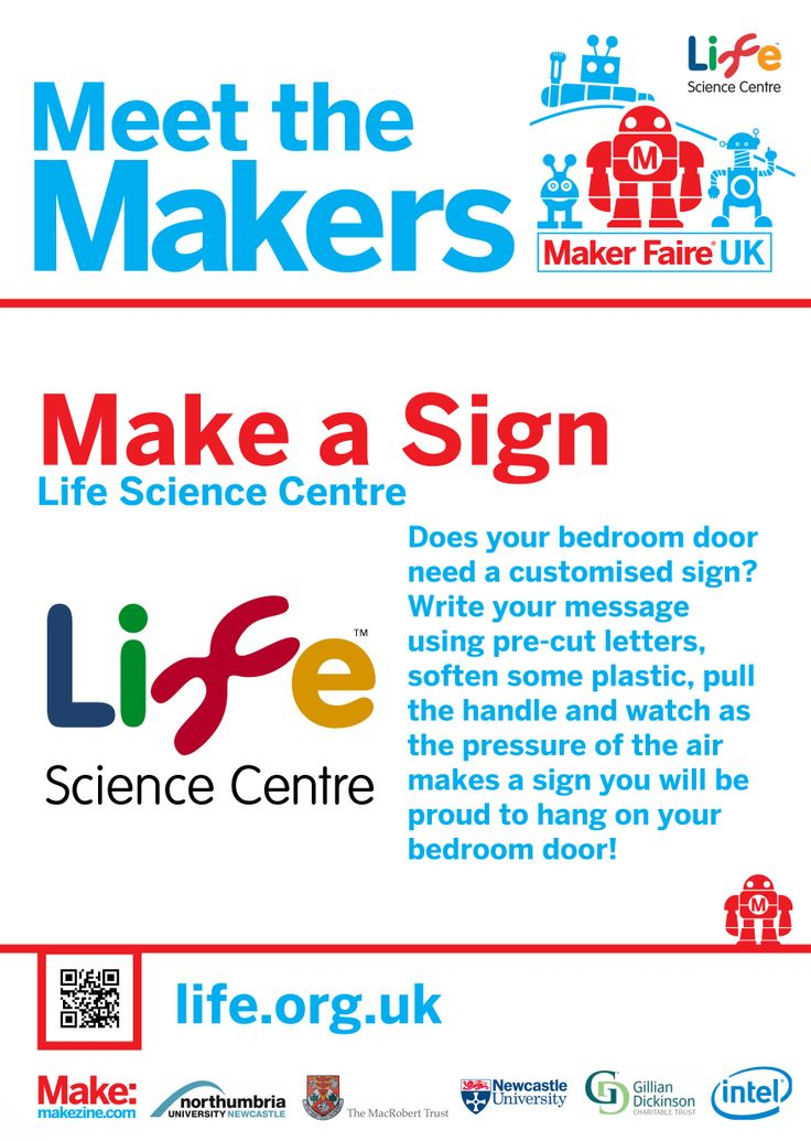 Make a Sign at Maker Faire UK 2014