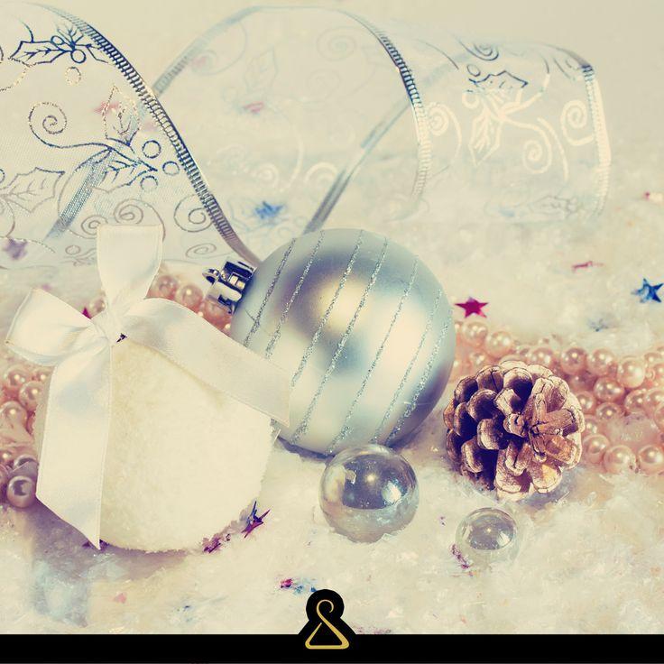 Decorazioni, Natale, Palline, Nastro, Oro, Bianco