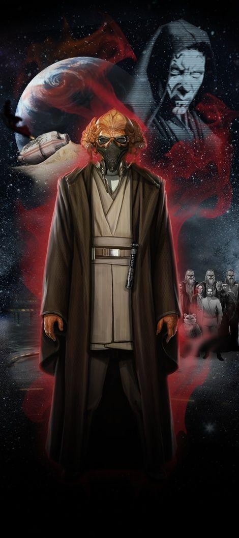 Je viens tout juste de visiter STAR WARS Identities : L'Exposition. Fais connaissance avec mon Héros Star Wars,  Anakine, un Kel Dor chevalier Jedi de Kamino!