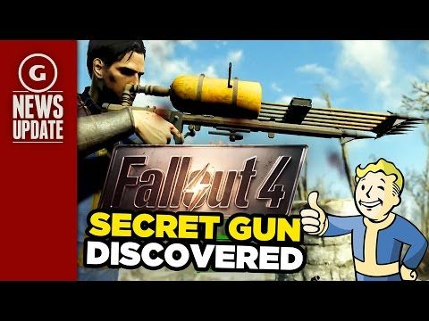Fallout 4's Secret Gun Discovered; Bethesda Warns Against Console Comman...