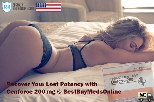 Cenforce 200 mg (Sildenafil Citrate Generic) is a miraculous medication used in the treatment of erectile dysfunction. Buy Cenforce 200 mg Online in USA from our reputed online pharmacy store at an economical price. Free Delivery. Order Now!