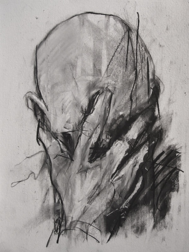 Hand on face is a typical physical response to migraine pain.DENNING http://www.widewalls.ch/artist/guy-denning/
