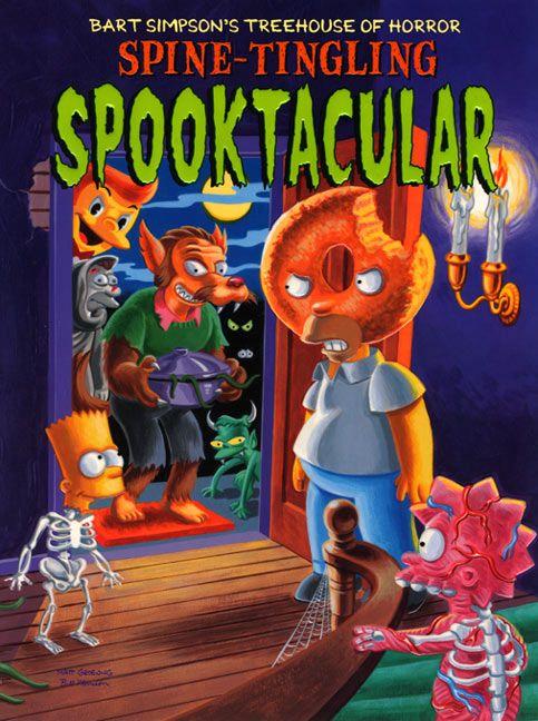 treehouse of horror   Bart Simpson's Treehouse of Horror Spine-Tingling Spooktacular by Matt ...