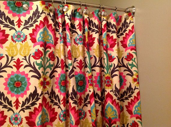 Waverly Curtain Panels 2 Panels One Pair Unlined 25 Single