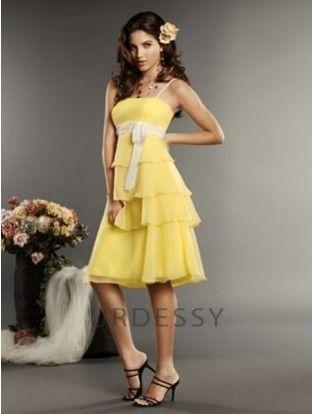 Daffodil Bridesmaid Dress