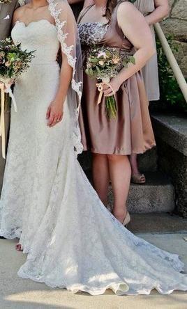 Used Watters Wedding Dress 1049B
