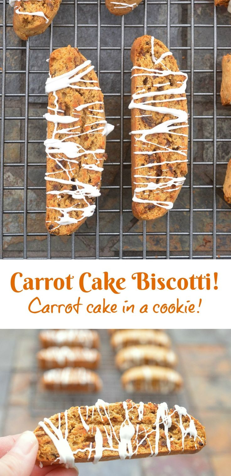 Carrot Cake Biscotti @Souffle Bombay The flavors of carrot cake IN a cookie!