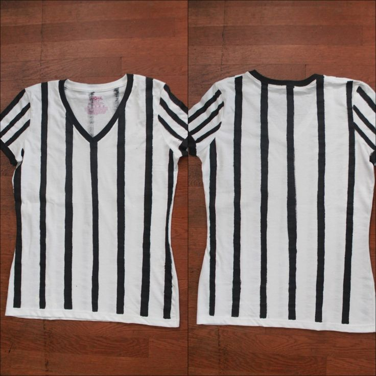 Inspired by this year's upcoming Super Bowl game, I decided to create this referee shirt tutorial. I have been seeing all of the recent Super Bowl ads featuring the fabulous Beyonce, and well, I wanna...