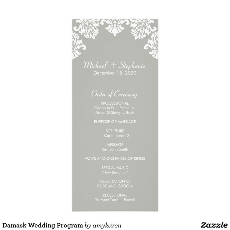 791 Best Wedding Programs Images On Pinterest