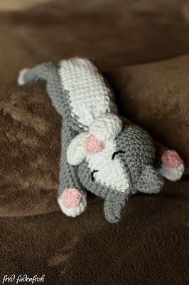 Katze häkeln kostenlose Anleitung crochet cat                                                                                                                                                                                 Mehr