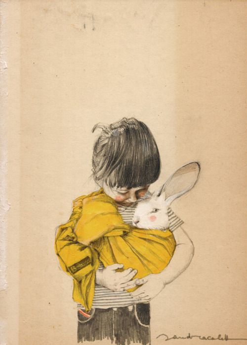 My portrait of Barbara #Sandra Caleffi illustration
