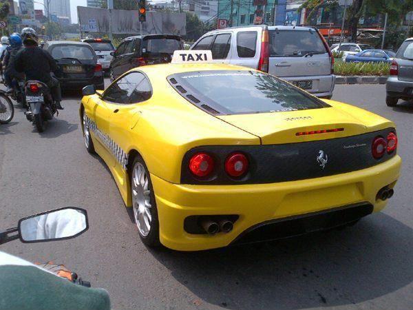 Ferrari F360 Taxi, Jakarta