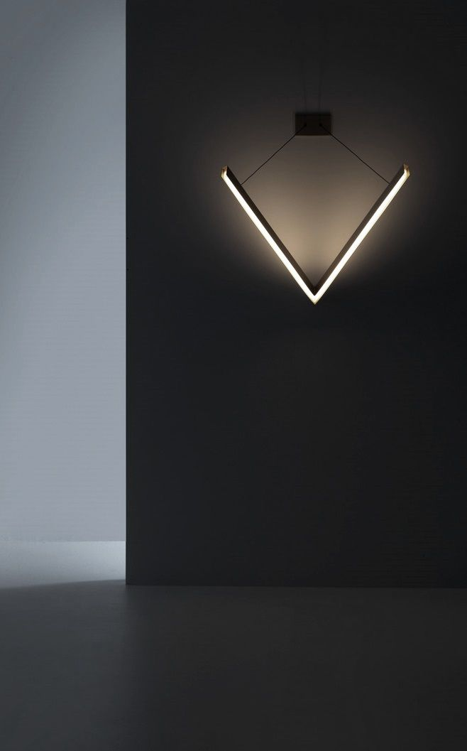 V Wall Light by Resident Studio.