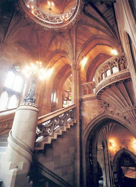 Beautiful Libraries and Bookshops...John Rylands Library, Manchester, UK, photo by The University of Manchester Library via Flickr.