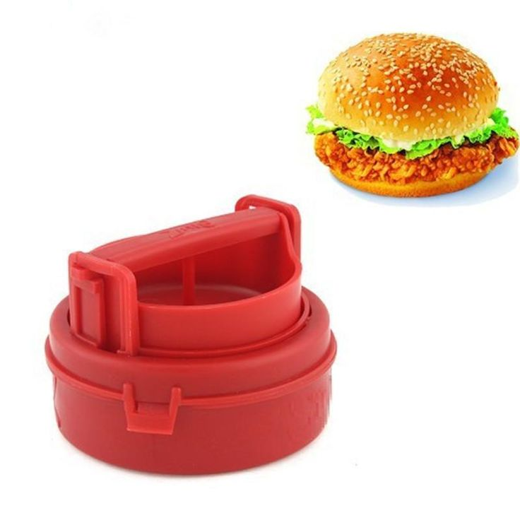 3-IN-1 Burger Press