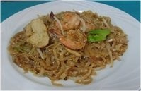 Krua Thai's Shrimp & Chicken Pad Thai