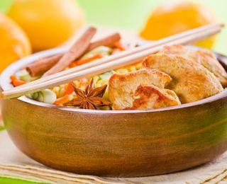 Cinnamon-Spiced Lemon Chicken