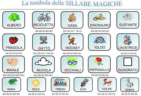 48 best sillabe images on pinterest montessori speech