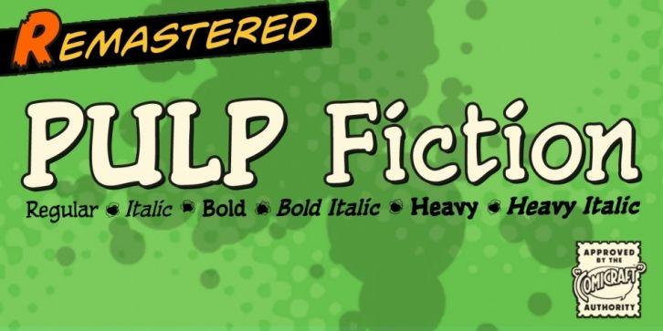 Pulp fiction font download pulp fiction portfolio