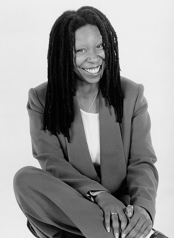 Whoopi Goldberg (born Caryn Elaine Johnson; November 13, 1955) is an American comedian, actress, singer-songwriter, political activist, author and talk show host.