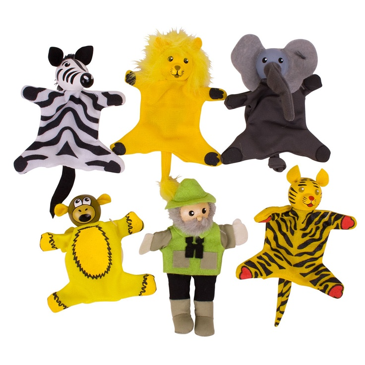 Our Safari Finger Puppets are great for imaginative play; Try and spot the wild animals with our fantastic finger puppets.