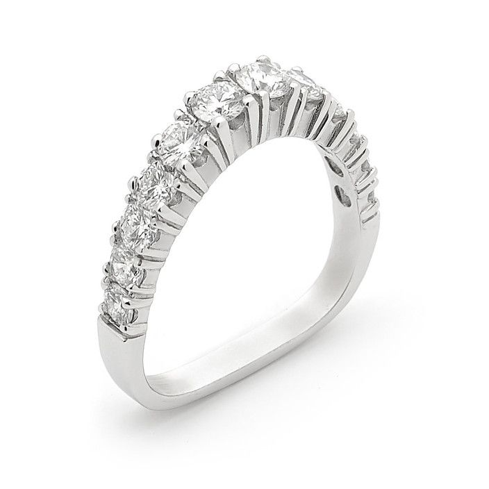 """Wendy Manzo Jewellery. This is my signature piece. The """"Tiara"""" ring in what we still call the 'new shape' band after 30 years of making it!"""