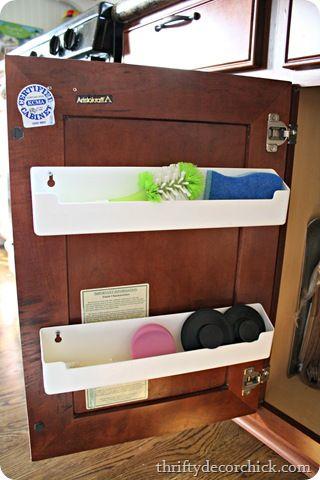 Kitchen Sink Organizer Ideas 1914 best organization images on pinterest   organizing ideas