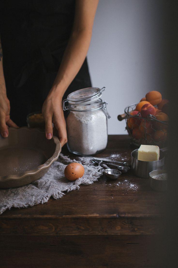 Whole Wheat Apricot Lattice Pie making by Tanya Balyanitsa (more seasonal recipes on Honeytanie.com). Enjoy!