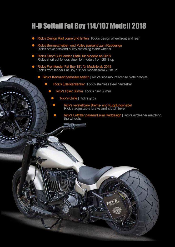 Fuga de línea fina | Las motos de Rick – Harley Davidson- Baden Baden   – Motor…
