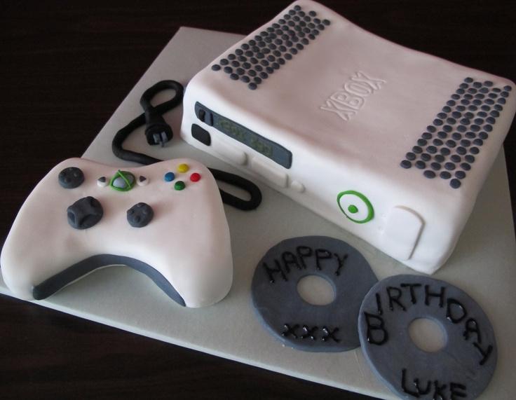 XBOX Cake Queen of Tarts Pinterest Cakes, Xbox cake ...