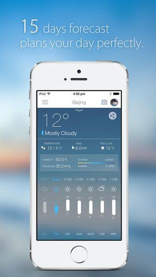 MoWeather - Forecast and Temperature Planner