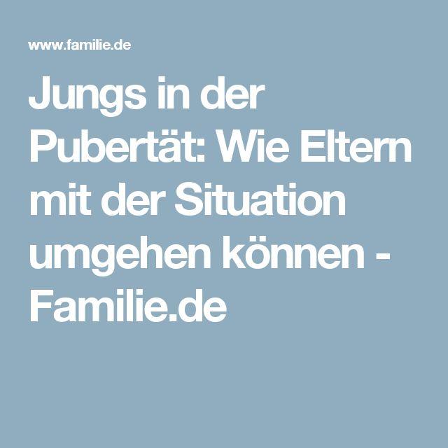 Jungs in der Pubertät: Wie Eltern mit der Situation umgehen können - Familie.de