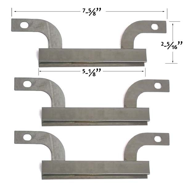 3 PACK REPLACEMENT STAINLESS STEEL CROSSOVER TUBE FOR GRILL KING, BRINKMANN 810-7450-S, 810-8501-S, 810-9400-0, 810-9419, 810-9419-0 GAS GRILL MODELS  Fits Grill King Models: 810-9325-0  BUY NOW @ http://grillpartsgallery.com/shopexd.asp?id=35884&sid=15793