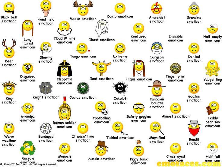 huge emoticons for facebook | Emoticons For Facebook Yahoo ...