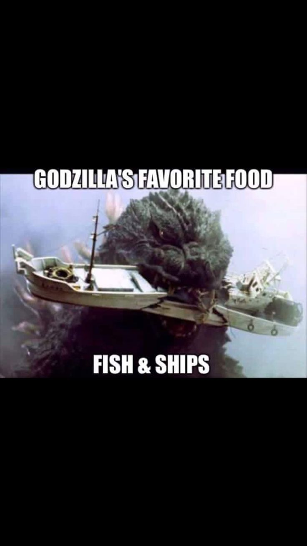 Godzilla joke                                                                                                                                                                                 More