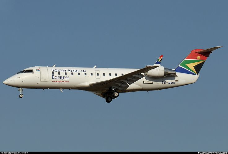 ZS-NMH South African Express Canadair CRJ-200