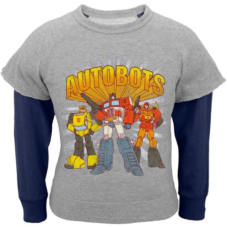 Transformers - Autos Crest Infant Reversible Crewneck Sweatshirt
